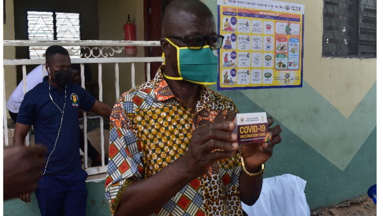 KWABRE EAST MUNICIPAL HEALTH DIRECTORATE LAUNCHES COVID-19 VACCINATION PROGRAMME